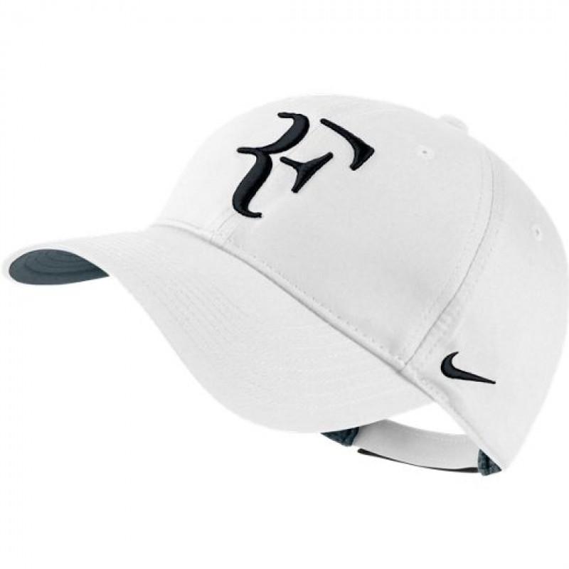 Boné Nike RF Hybrid - Branco Preto - Planeta Tenis 6c4e3623700