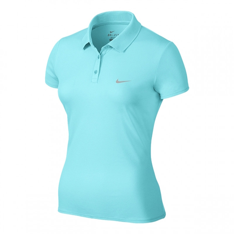 c0c5b99601aef Polo Nike Advantage Feminina - Turquesa - Planeta Tenis