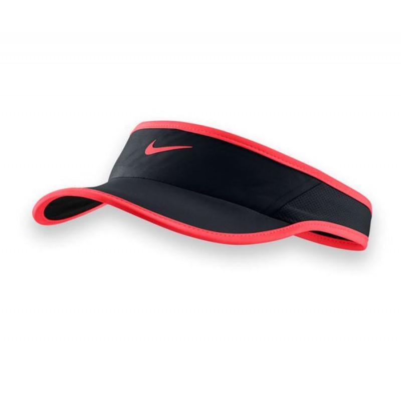 Viseira Nike Feather Light Fem - Pto Laranja - Planeta Tenis 5d48fe0b083
