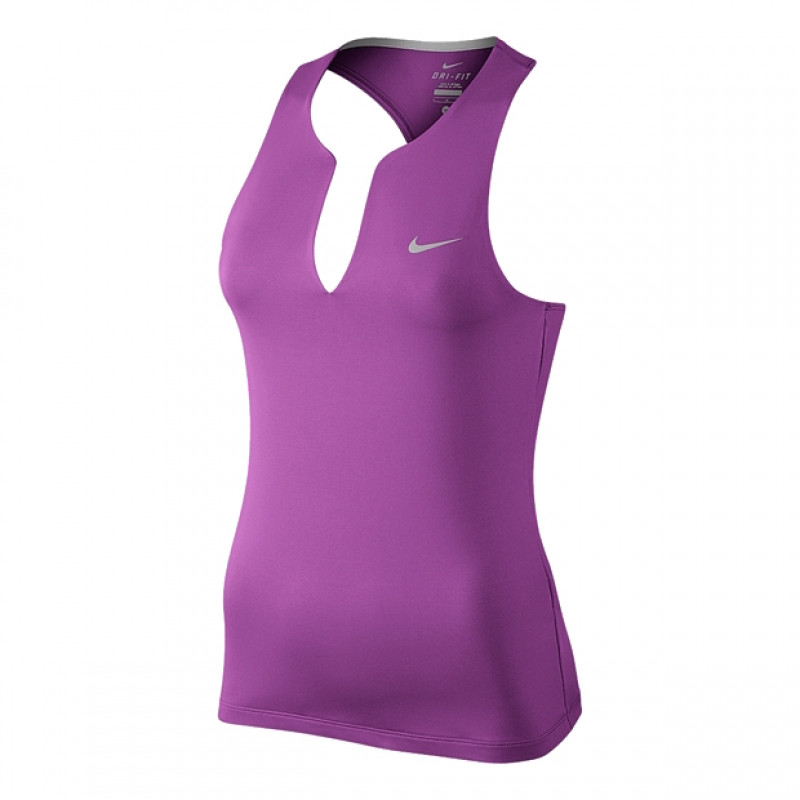 Regata Nike Pure Tank - Roxo - Planeta Tenis 5dd88e68b7be6