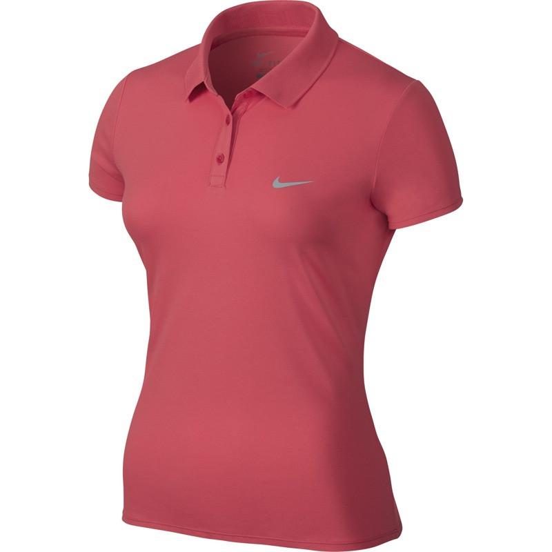Polo Nike Advantage Feminina - Rosa - Planeta Tenis d0688fe32dcc4