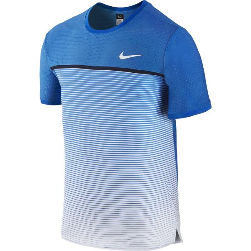 a6378e0cf6685 Camiseta Nike Challenger - Azul - Planeta Tenis