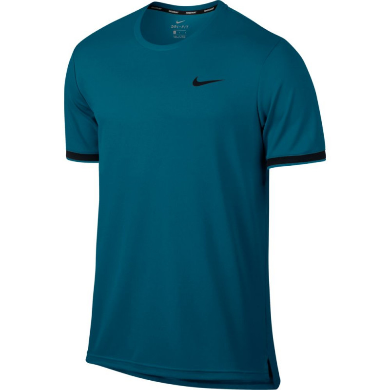 Camiseta Nike NKCT Dry Top Team - Green Abyss - Planeta Tenis c48238b5146e7