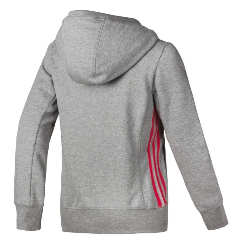 ... Moleton Adidas Ess Mid 3S Capuz - Fem - Cinza - Planeta Tenis  6dc5d9d979c0a4 ... 94478a43a4e7f