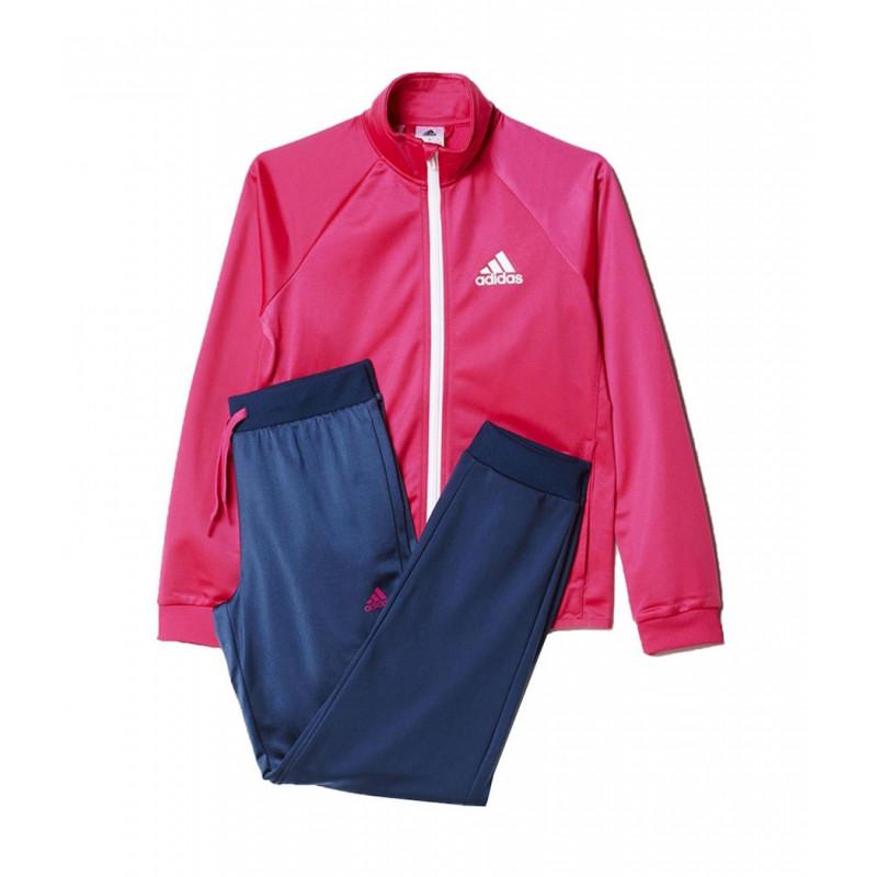 9cacfd25d Agasalho Adidas Infantil YG S Entry TS - Rosa Mar - Planeta Tenis