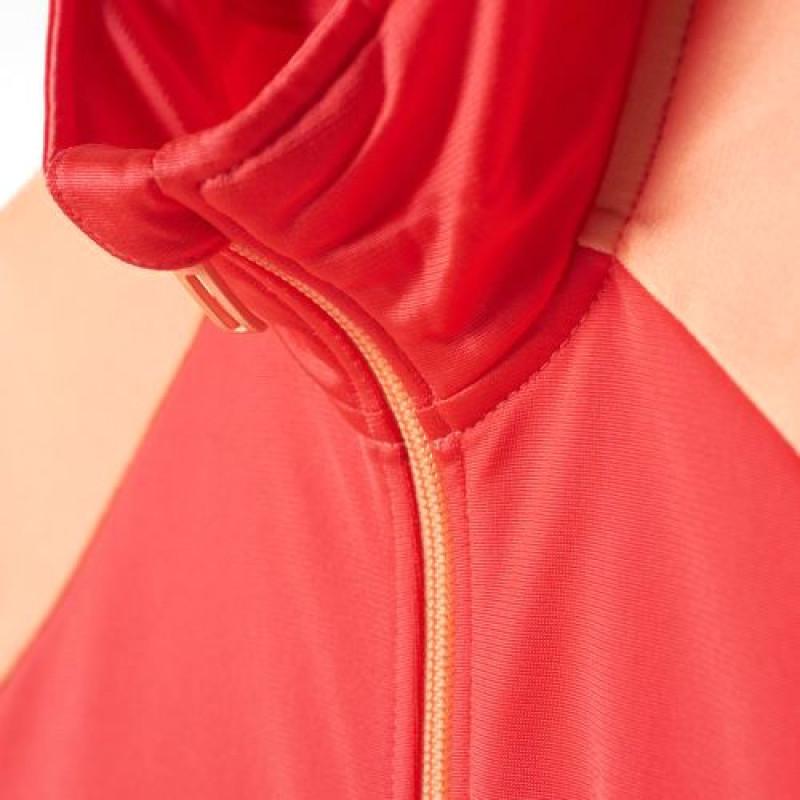 c29e52a47d4 Agasalho Adidas Infantil YB TS Entry OH - Shock Red Pto - Planeta Tenis