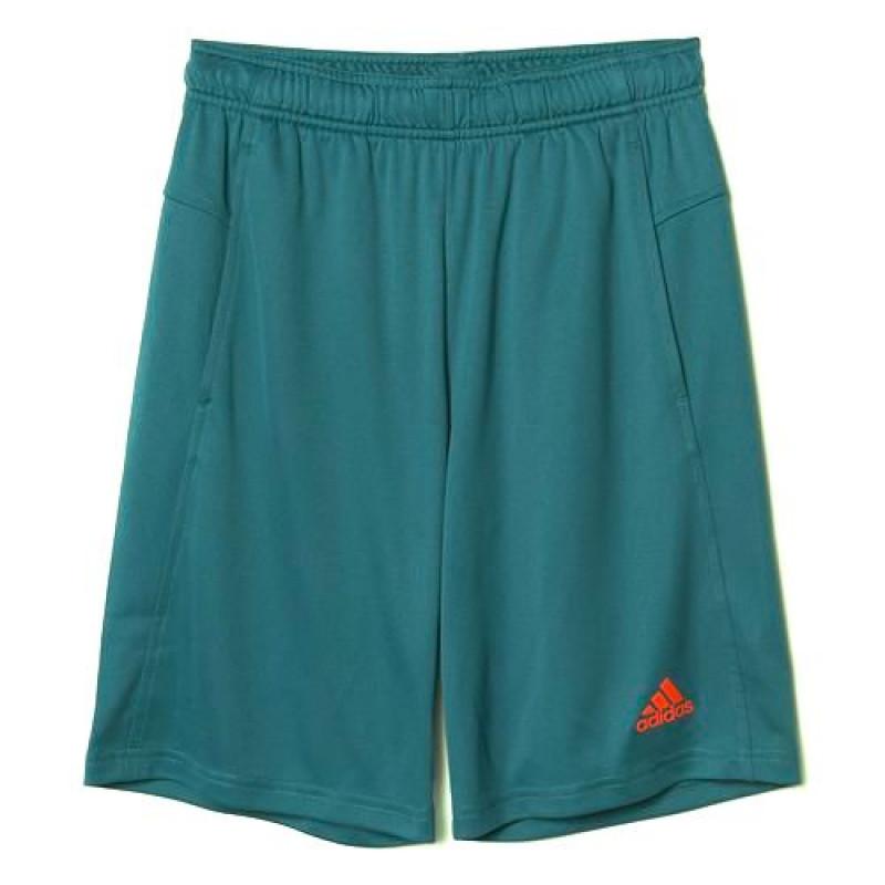 45893605bec Short Adidas TR PL KN Infantil - Verde - Planeta Tenis
