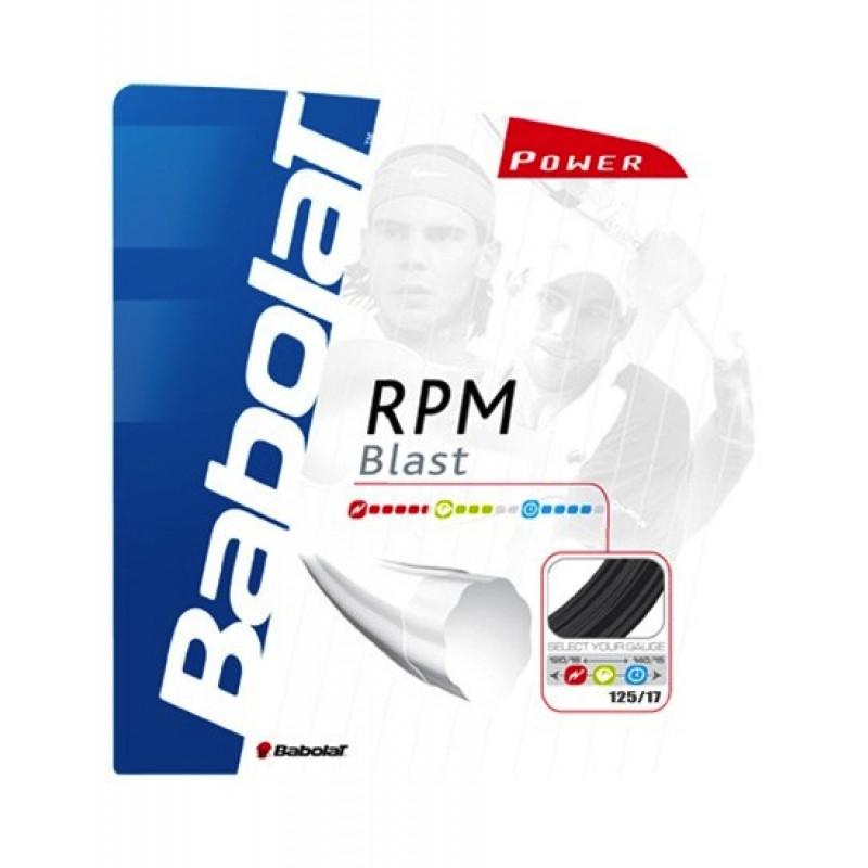 Corda tennis RPM BLAST 1,25 BABOLAT - CORDE TENNIS Sport ...