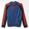 Agasalho Adidas Knit c/ Capuz